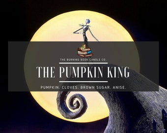 The Pumpkin King - 4 oz Soy Candle - Nightmare Before Christmas