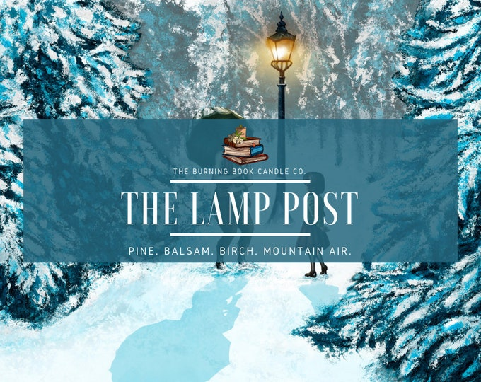 Featured listing image: The Lamp Post - Soy Candle - Chronicles of Narnia
