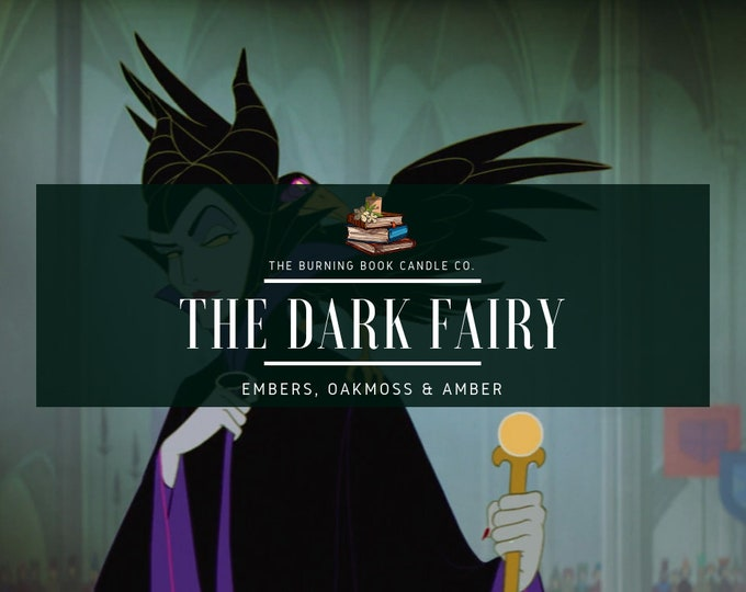Featured listing image: The Dark Fairy - Soy Candle - Maleficent