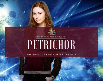 Petrichor - Soy Candle - Doctor Who