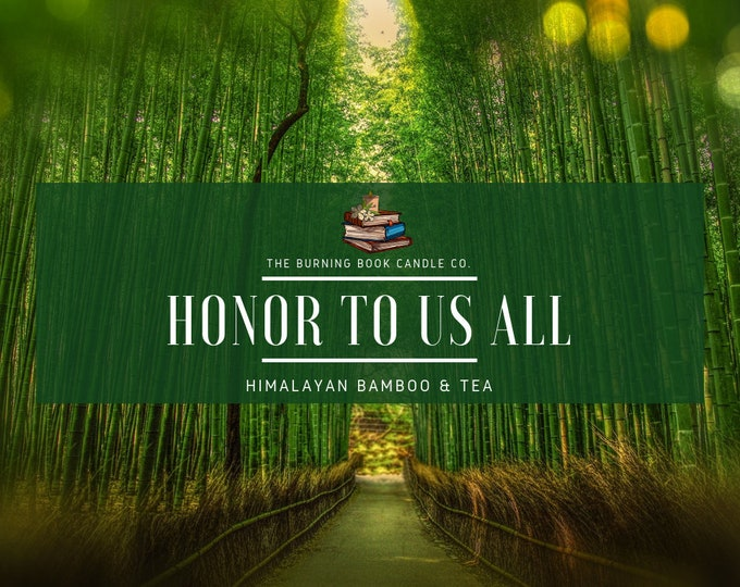 Honor to Us All - Soy Candle - Mulan