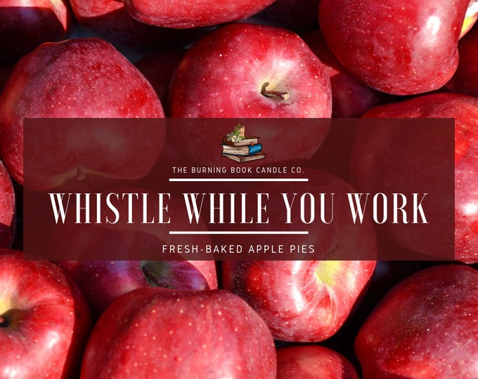 Featured listing image: Whistle While You Work - Soy Candle - Snow White