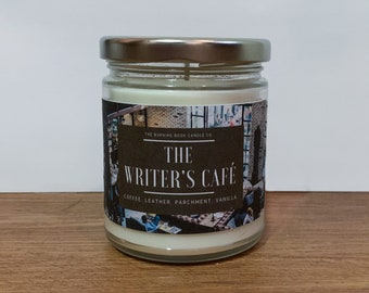Writer's Cafe - Soy Candle