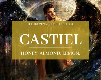 Castiel - Soy Candle - Supernatural