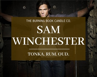 Sam Winchester - Soy Candle - Supernatural