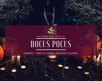 HOCUS POCUS - 4 oz Soy Candle