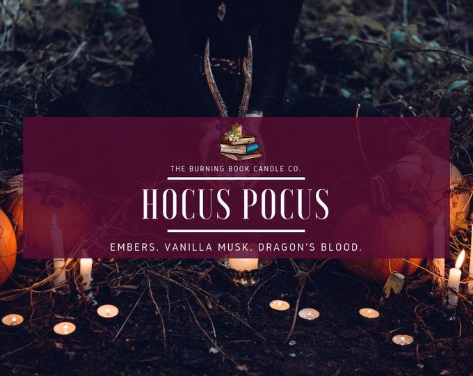 HOCUS POCUS - 4 oz Soy Candle