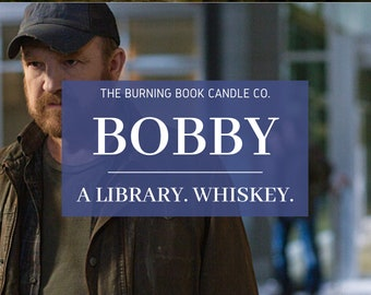 Bobby - Soy Candle - Supernatural