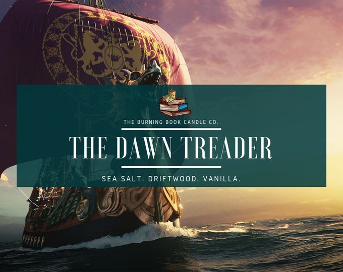 Featured listing image: The Dawn Treader - Soy Candle - Chronicles of Narnia