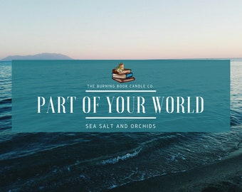 Part of Your World - Soy Candle - The Little Mermaid