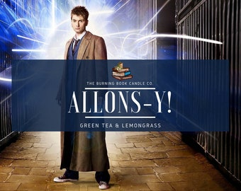 Allons-y! - Soy Candle - Doctor Who