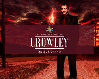 Crowley - Soy Candle - Supernatural
