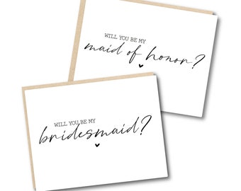 Stylish Set of 9 Front Inside Print AQUA HEART I can/'t say i do without you How to ask maid of honor bridesmaid -CHECK Description