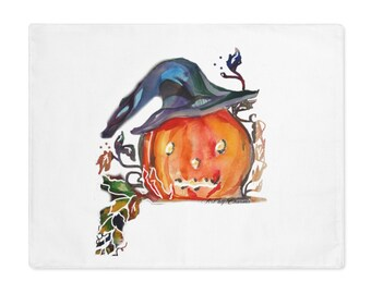Placemat/Witch Pumpkin/ Halloween  Table Decor/Decorate Your Table/Halloween Decoration