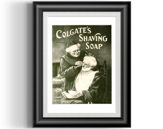 vintage Colgate advert Poster Reproduction. Wall art Why pick on women