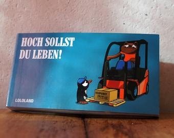 "Flip book ""Hoch sollste leben"""