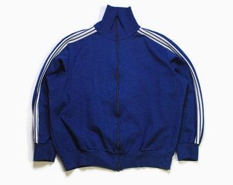 adidas retro jacke blau herren
