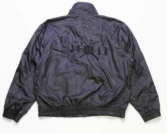 64e4008b866 vintage NIKE JORDAN 1988 MVP big logo Track Jacket mens Size M authentic  rare retro hip hop athletic outfit 90s 80s usa streetwear Sport air