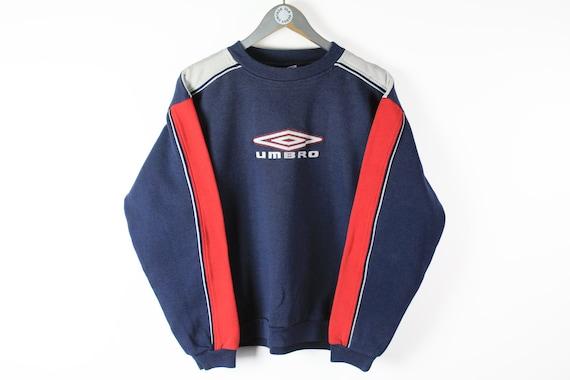 vintage UMBRO big logo sweatshirt men's Size S aut
