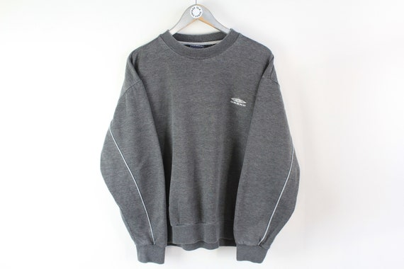 vintage UMBRO sweatshirt men's Size M gray authent