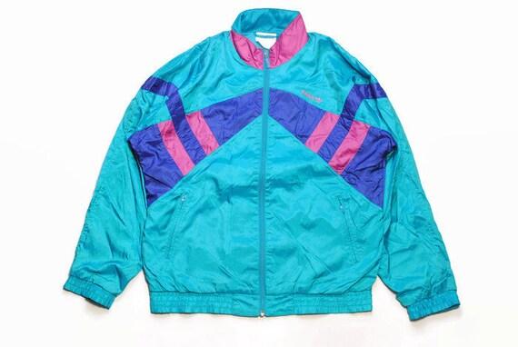 Vintage Purple And Teal Adidas Originals Track Jacket