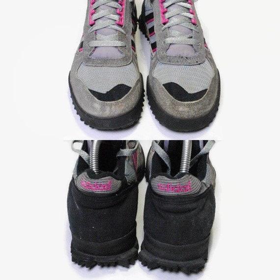 Esmerado guirnalda Consejo  Vintage ADIDAS MARATHON authentic gray pink sneakers Size   Etsy