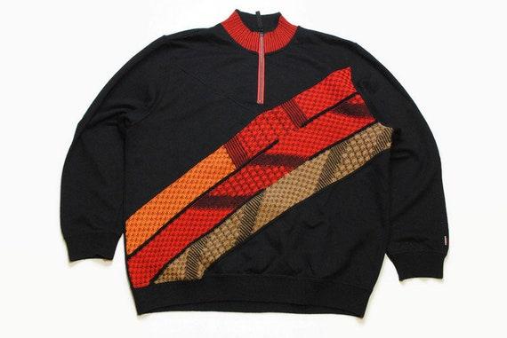 Sweatshirt Colucci Pullover Sweater Weit Sweater XXL Jumper