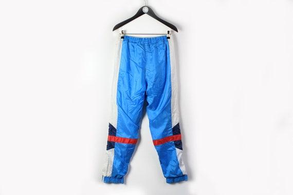 vintage ADIDAS men's Track Pants blue white small… - image 3