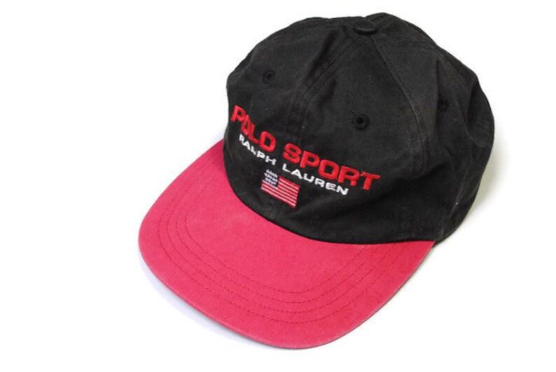 1726246341e54a Vintage POLO SPORT Ralph Lauren baseball cap hat   Etsy