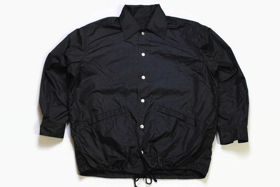 vintage ATSUKI ONISHI black Coach Jacket authentic