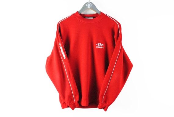 vintage UMBRO big logo sweatshirt men's Size M aut