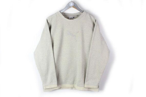 Joyfulment /& Activity Sports Big Logo Embroidery Vintage Sweatshirt Jumper Side Pocket Sportswear Streetwear Jacket  M Saiz. E31 RaRe