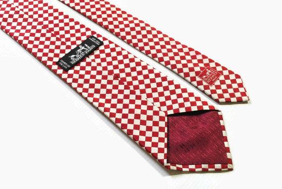vintage HERMES mens 100% silk Tie made in France n