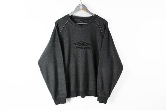 vintage UMBRO big logo sweatshirt men's Size XL au
