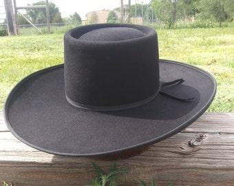 50bb8071f3b1be Gambler cowboy hat | Etsy