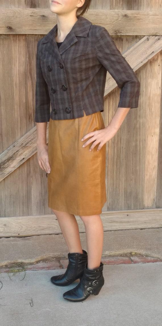 1940s Cropped Jacket, Vintage Swiss Dot Blouse, Cr
