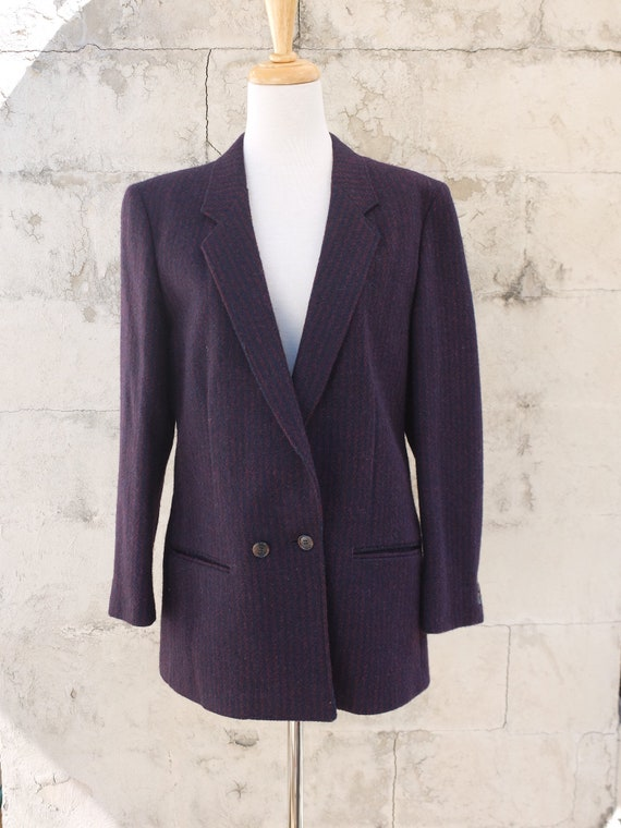 Harris Tweed / Wool Jacket / Tweed Jacket / Vintag