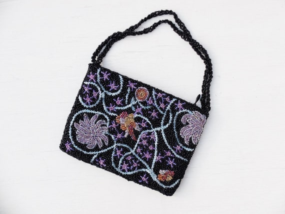 Beaded Bag / Beaded Purse / Small Purse / Beaded B