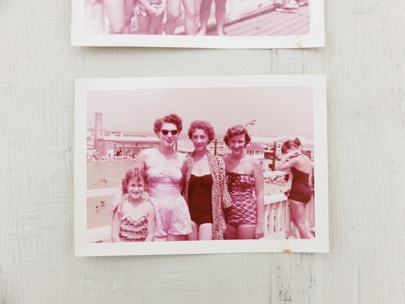 Ephemera  Old Photos  Bathing Beauties  Vintage Photo  Vintage Photos  Found Photo  Found Photos  Bathing Beauty  Kodacolor