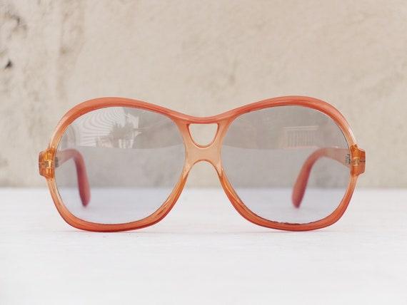 70s Sunglasses / Aviator / Vintage Sunglasses / 70