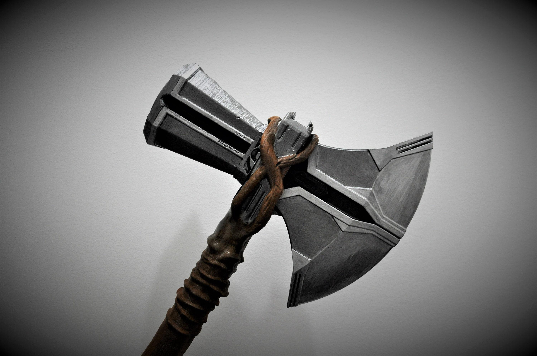 Coldfusion Avenger 3 Infinity War Thor Stormbreaker Cosplay Foam Prop Replica Axe!