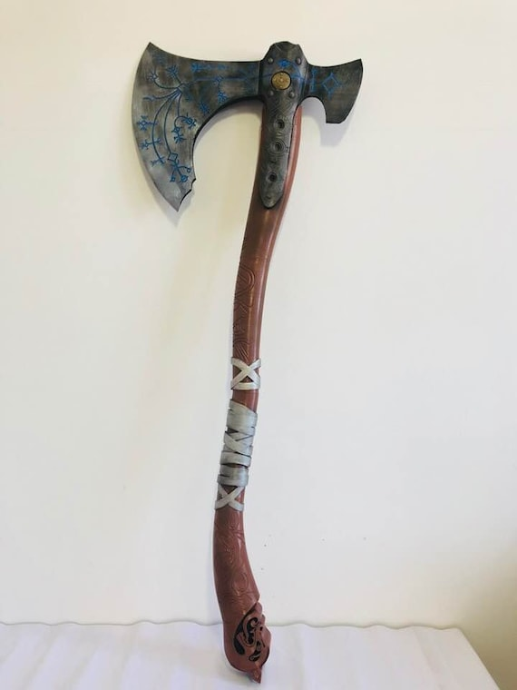 Kratos Leviathan Axe From God Of War 3dprinted Replica For Cosplay