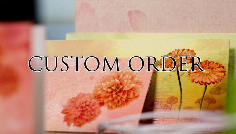 Custom Order for Madhvi Kushwaha
