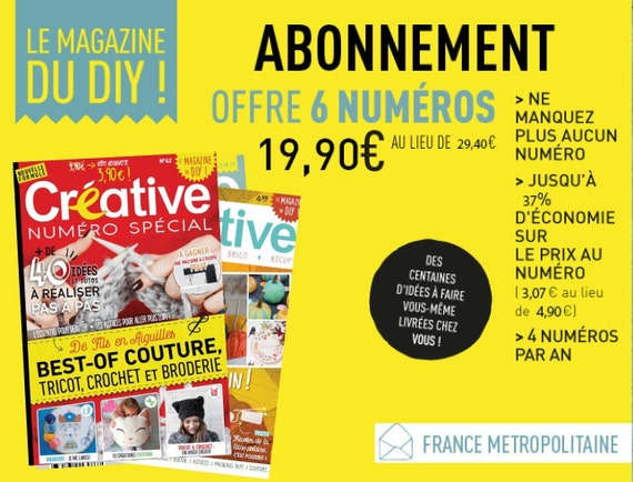 Subscription 6 N Metropolitan France