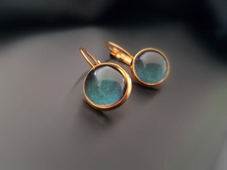 Forest Lake Gilded earrings