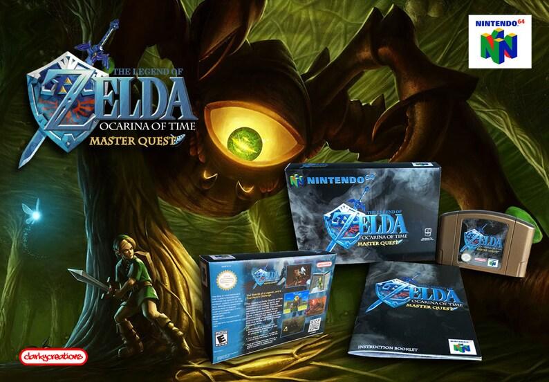 The Legend of Zelda: Ocarina of Time Master Quest - N64 Nintendo