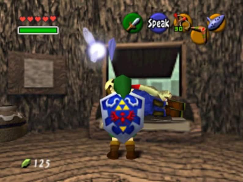 Custom Nintendo 64 N64 console Legend of ZELDA themed