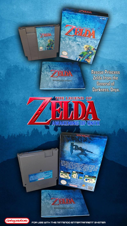 The Legend of Zelda: Awakening of Onyx - NES Nintendo - NTSC or PAL