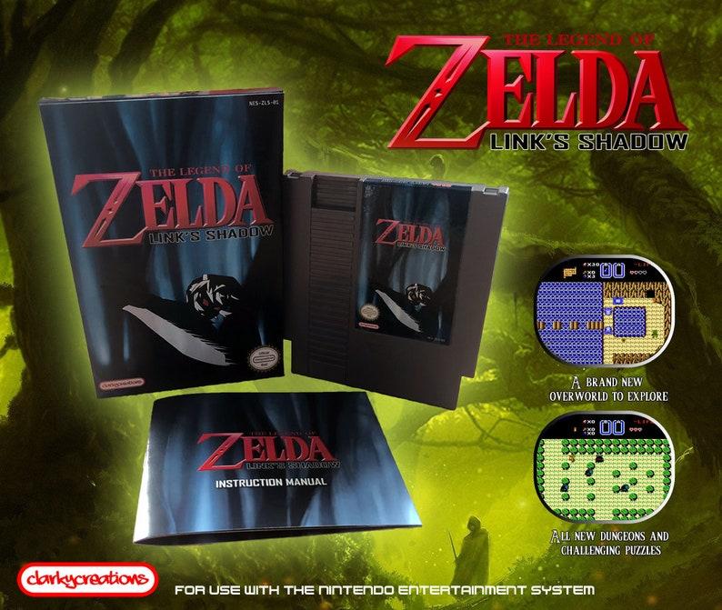 The Legend of Zelda: Link's Shadow - NES Nintendo - NTSC or PAL