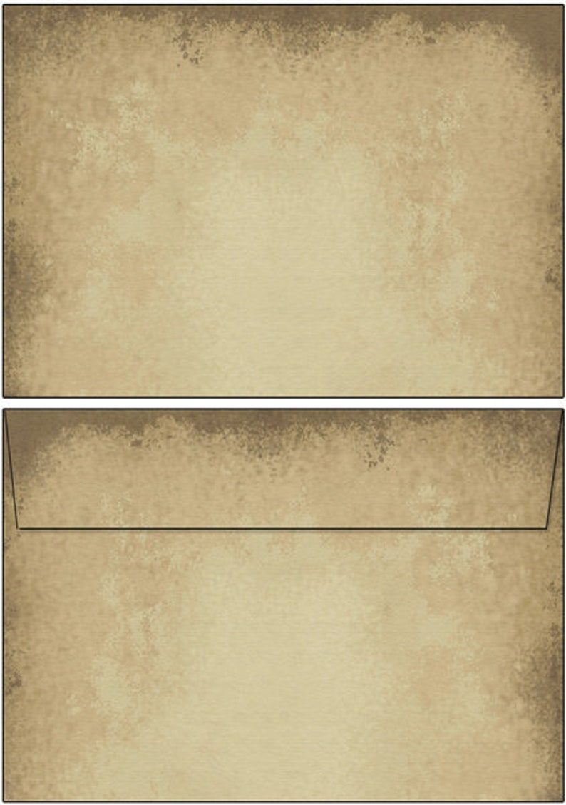 OLD STYLE 100 sheets DIN A6 Motif Letter Paper